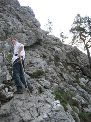 Foto: Alpinfreunde / Wandertour / Über den Naturfreundesteig auf den Traunstein / 29.04.2007 19:54:28