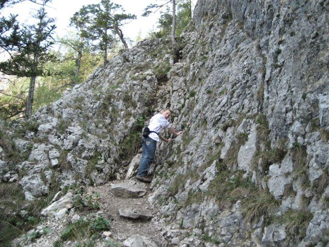 Foto: Alpinfreunde / Wandertour / Über den Naturfreundesteig auf den Traunstein / 29.04.2007 19:55:01