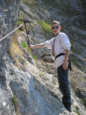 Foto: Alpinfreunde / Wandertour / Über den Naturfreundesteig auf den Traunstein / 29.04.2007 19:58:57