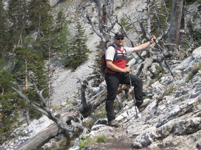 Foto: Alpinfreunde / Wandertour / Über den Naturfreundesteig auf den Traunstein / 29.04.2007 19:59:58