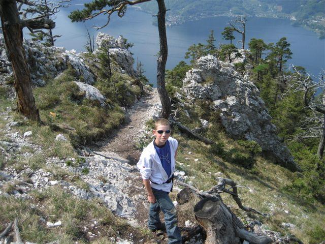 Foto: Alpinfreunde / Wandertour / Über den Naturfreundesteig auf den Traunstein / 29.04.2007 20:00:07