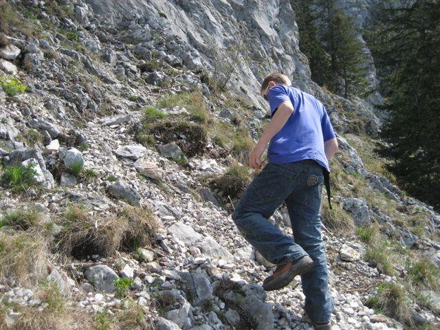 Foto: Alpinfreunde / Wandertour / Über den Naturfreundesteig auf den Traunstein / 29.04.2007 20:00:35