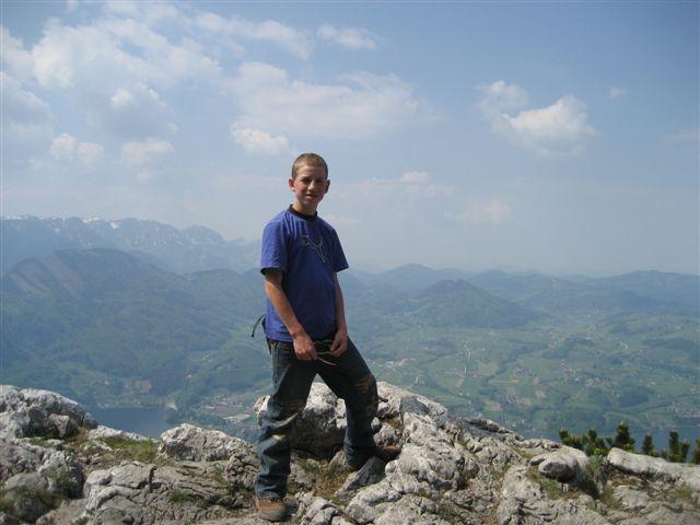 Foto: Alpinfreunde / Wandertour / Über den Naturfreundesteig auf den Traunstein / 29.04.2007 20:01:04