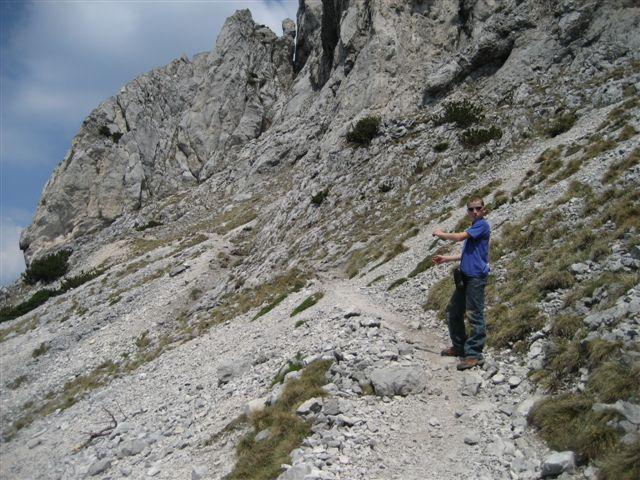 Foto: Alpinfreunde / Wandertour / Über den Naturfreundesteig auf den Traunstein / 29.04.2007 20:01:30