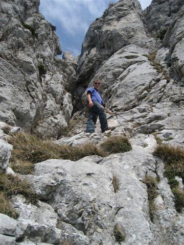 Foto: Alpinfreunde / Wandertour / Über den Naturfreundesteig auf den Traunstein / 29.04.2007 20:01:45