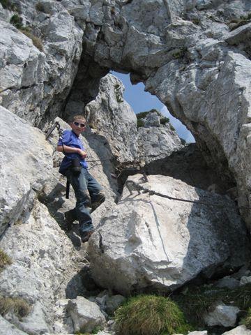 Foto: Alpinfreunde / Wandertour / Über den Naturfreundesteig auf den Traunstein / 29.04.2007 20:02:27