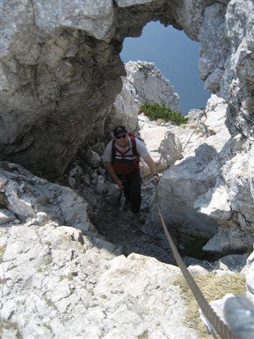 Foto: Alpinfreunde / Wandertour / Über den Naturfreundesteig auf den Traunstein / 29.04.2007 20:02:42
