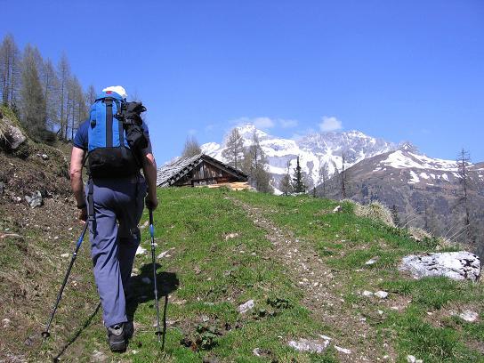 Foto: Andreas Koller / Wander Tour / Auf die Felskarspitze (2506m) / Gspandlalm mit Mosermandl (2680 m) / 30.04.2007 20:49:37
