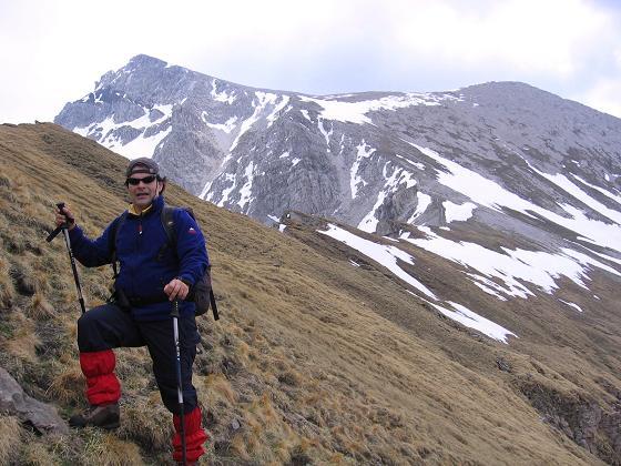 Foto: Andreas Koller / Wander Tour / Große Guglspitze - stille Tour im Hochfeindkamm (2638 m) / Der Grat zur Guglspitze / 30.04.2007 21:29:39
