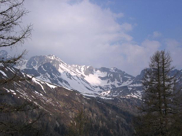 Foto: Andreas Koller / Wandertour / Große Guglspitze - stille Tour im Hochfeindkamm (2638 m) / Kleines Mosermandl (2538 m) / 30.04.2007 21:24:00