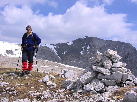 Foto: Andreas Koller / Wandertour / Große Guglspitze - stille Tour im Hochfeindkamm (2638 m) / Auf den Guglspitzen / 30.04.2007 21:37:23
