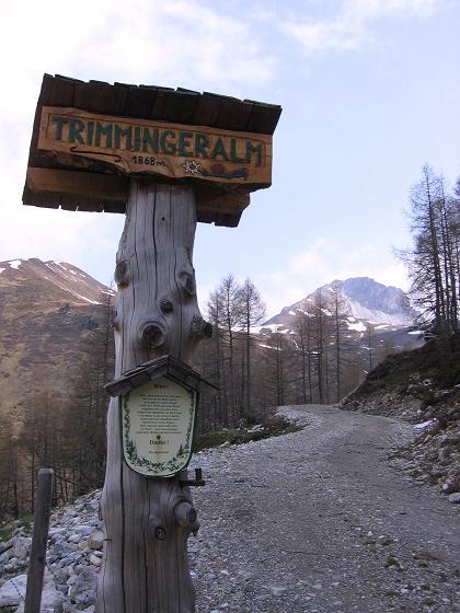 Foto: Andreas Koller / Wandertour / Große Guglspitze - stille Tour im Hochfeindkamm (2638 m) / Trimmingeralm (1868 m) / 30.04.2007 21:24:31