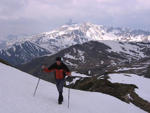 Foto: Andreas Koller / Wandertour / Große Guglspitze - stille Tour im Hochfeindkamm (2638 m) / Anstieg von der Trimmingeralm / 30.04.2007 21:26:01