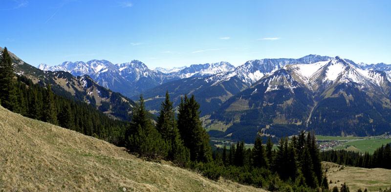 Foto: vince 51 / Wandertour / Von Wengle auf den Plattberg / 30.04.2007 23:45:28