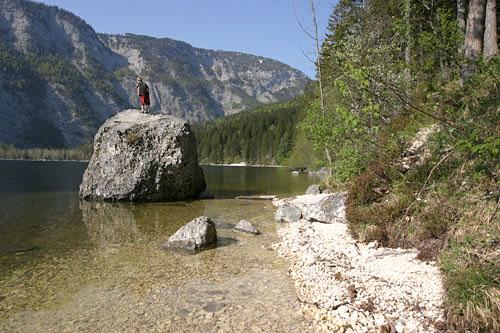 Foto: Lenswork.at / Ch. Streili / Wander Tour / Rund um den Altausseer See / 03.05.2007 13:52:31