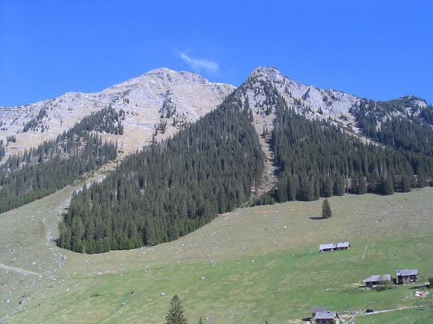 Foto: Andreas Koller / Wandertour / Angererkogel - Runde (2114 m) / Hinteregger Alm und Nazogl / 02.05.2007 22:16:54