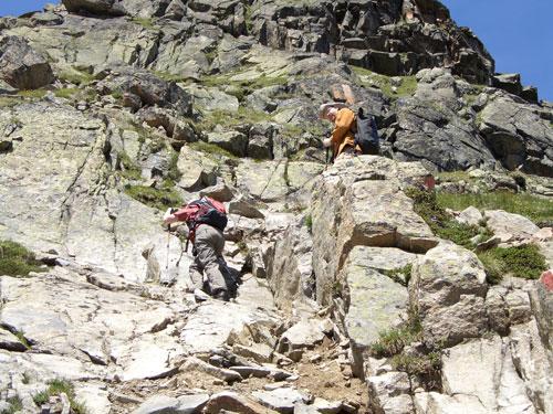 Foto: vince 51 / Wander Tour / Von Mandarfen auf den Brandkogel / Kletterpartie / 03.05.2007 21:09:19