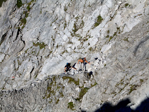 Foto: vince 51 / Wander Tour / Von Hochkrumbach auf den Grossen Widderstein / in der Südwestgrat-Südflanke / 04.05.2007 22:43:55