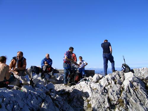 Foto: vince 51 / Wander Tour / Von Hochkrumbach auf den Grossen Widderstein / Gipfelrast / 04.05.2007 22:41:13