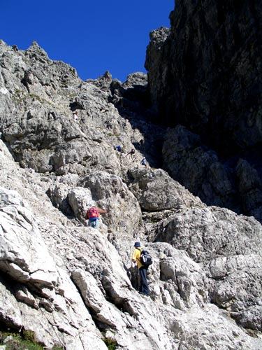 Foto: vince 51 / Wander Tour / Von Hochkrumbach auf den Grossen Widderstein / in der Südschlucht / 04.05.2007 22:36:45