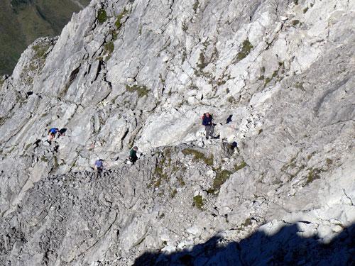 Foto: vince 51 / Wander Tour / Von Hochkrumbach auf den Grossen Widderstein / in der Südwestgrat-Südflanke / 04.05.2007 22:43:26