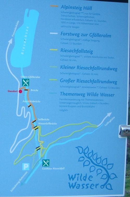 Foto: Manfred Karl / Wandertour / Alpinsteig Höll - Wilde Wasser im Untertal / Wegverlauf / 05.05.2007 20:35:53