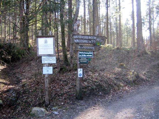 Foto: letsgoactive / Mountainbike Tour / Rund um den Untersberg / Weiter geht´s in Richtung Wolfschwang / 06.05.2007 17:11:29