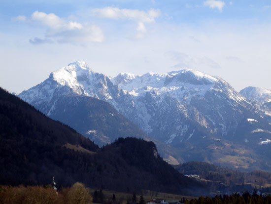 Foto: letsgoactive / Mountainbike Tour / Rund um den Untersberg / Gebirge oberhalb Berchtesgaden / 06.05.2007 17:18:59
