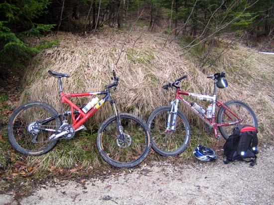 Foto: letsgoactive / Mountainbike Tour / Rund um den Untersberg / Hardware / 06.05.2007 17:22:30