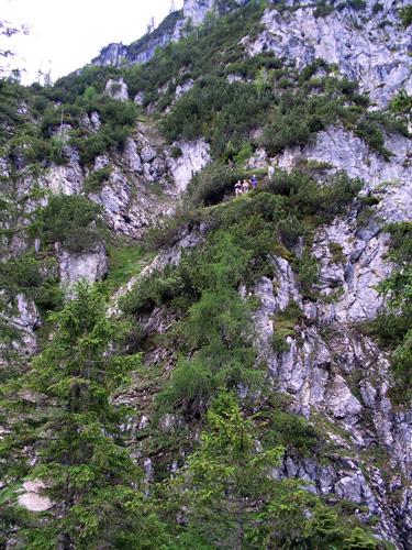 Foto: vince 51 / Wander Tour / Über den Hohen Gang zur Coburger Hütte und auf den Vorderen Drachenkopf (2302m) / Im Hohen Gang / 08.05.2007 22:17:43