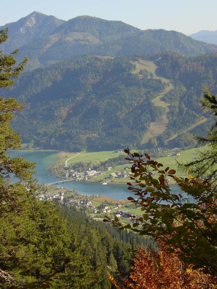 Foto: Corinna Mößlacher / Mountainbike Tour / Weiße Wand - Alm hinterm Brunn - Weissensee / 10.05.2007 11:57:30