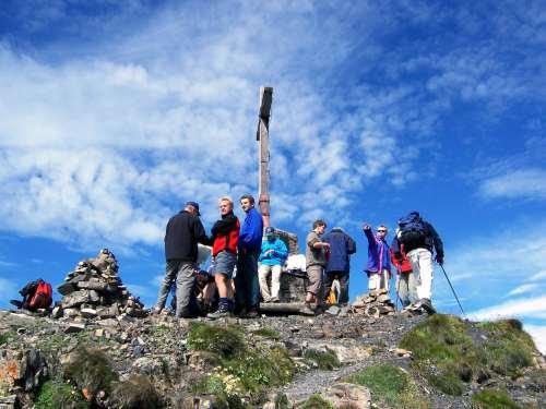 Foto: vince 51 / Wander Tour / Zwei-Gipfel-Rundtour / Naafkopfgipfel / 11.05.2007 23:16:19
