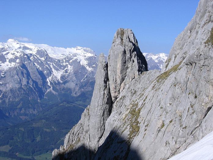 Foto: Andreas Koller / Wander Tour / Bleikogel - Runde (2411 m) / Kleines Fiberhorn (2157 m) mit Hochkönig (2941 m) / 15.05.2007 01:16:26