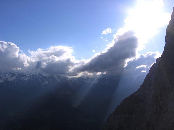 Foto: Andreas Koller / Wander Tour / Bleikogel - Runde (2411 m) / Fieberhorn S-Kante / 15.05.2007 01:18:06