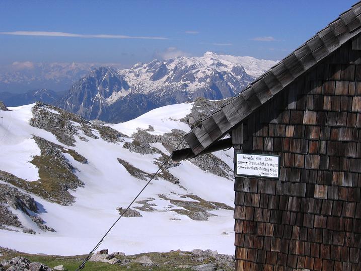 Foto: Andreas Koller / Wander Tour / Bleikogel - Runde (2411 m) / Edelweißhütte mit Hochkönnig (2941 m) / 15.05.2007 01:19:53