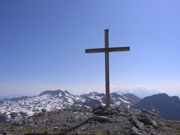 Foto: Andreas Koller / Wander Tour / Bleikogel - Runde (2411 m) / Streitmandl-Gipfel mit Bleikogel / 15.05.2007 01:20:32