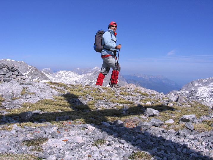 Foto: Andreas Koller / Wander Tour / Bleikogel - Runde (2411 m) / Abstieg vom Streitmandl / 15.05.2007 01:20:49