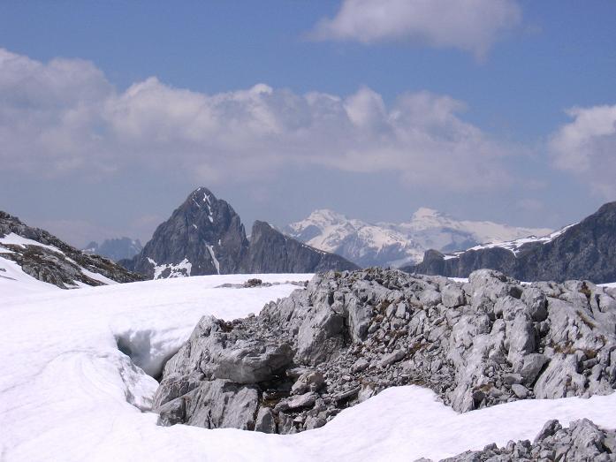 Foto: Andreas Koller / Wander Tour / Bleikogel - Runde (2411 m) / Hochthron (2362 m) und Hochkönig (2941 m) / 15.05.2007 01:22:04