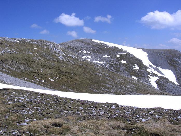 Foto: Andreas Koller / Wander Tour / Bleikogel - Runde (2411 m) / Der Bleikogel Gipfelaufbau / 15.05.2007 01:22:46