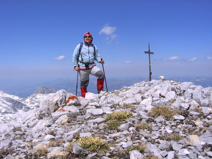 Foto: Andreas Koller / Wander Tour / Bleikogel - Runde (2411 m) / Am Bleikogel / 15.05.2007 01:23:17