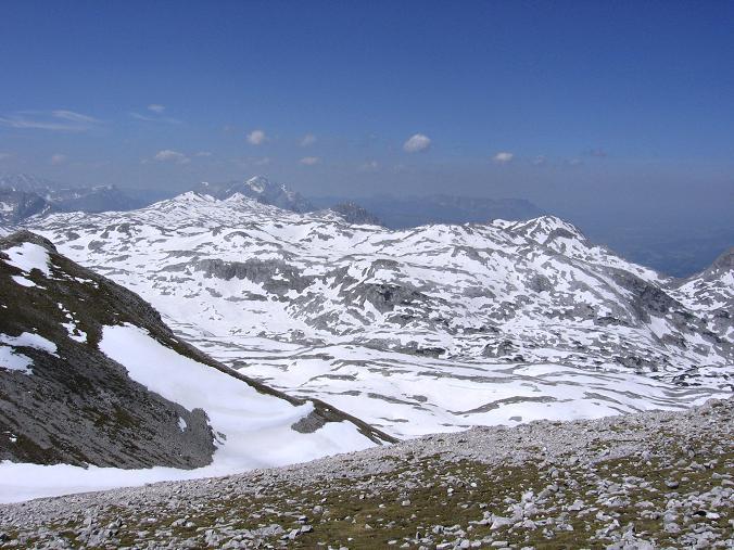 Foto: Andreas Koller / Wander Tour / Bleikogel - Runde (2411 m) / Tennengebirge Hochplateau / 15.05.2007 01:23:39