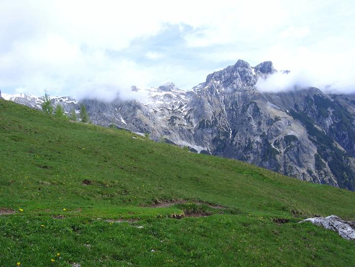 Foto: Andreas Koller / Wander Tour / Bleikogel - Runde (2411 m) / Wenger Alm und Eiskögel (2321 m) / 15.05.2007 01:13:42