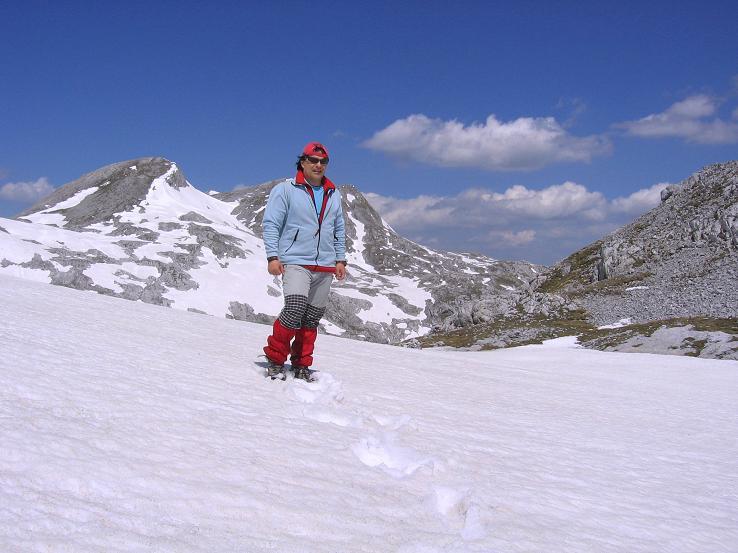 Foto: Andreas Koller / Wander Tour / Bleikogel - Runde (2411 m) / Traversierung mit Blick auf den Bleikogel / 15.05.2007 01:25:22