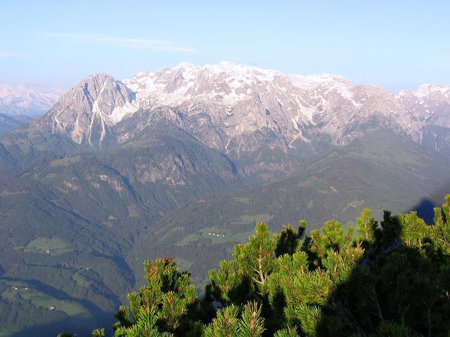 Foto: Andreas Koller / Wander Tour / Raucheck über die Hochthron-Leiter (2431 m) / Der Hochkönig (2941 m) / 15.05.2007 01:46:31