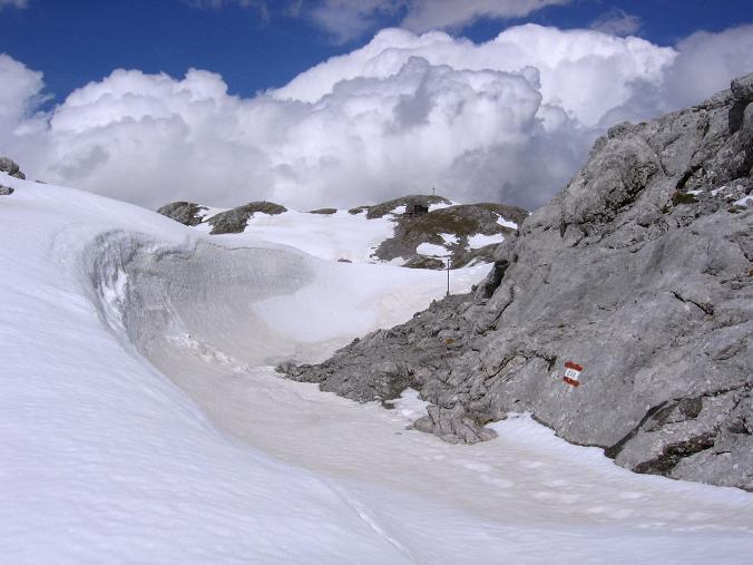 Foto: Andreas Koller / Wander Tour / Raucheck über die Hochthron-Leiter (2431 m) / Hinteres Streitmandl (2378 m) und Edelweißhütte / 15.05.2007 01:48:38