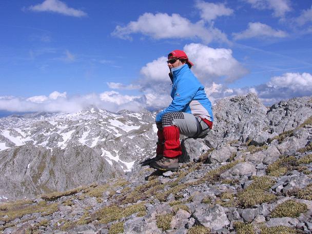 Foto: Andreas Koller / Wander Tour / Raucheck über die Hochthron-Leiter (2431 m) / Rast am Gipfel / 15.05.2007 01:52:02