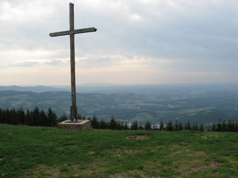 Foto: mucho / Mountainbike Tour / Kulm / Kulmkreuz mit Stubenbergsee / 21.05.2007 14:55:03
