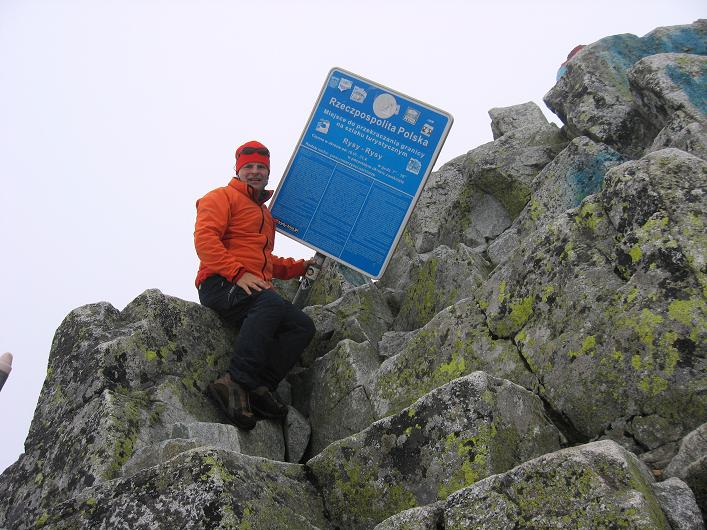 Foto: Andreas Koller / Wandertour / Rysy - Paradeberg der Hohen Tatra (2503 m) / Grenzübergang zu Polen / 21.05.2007 18:57:02