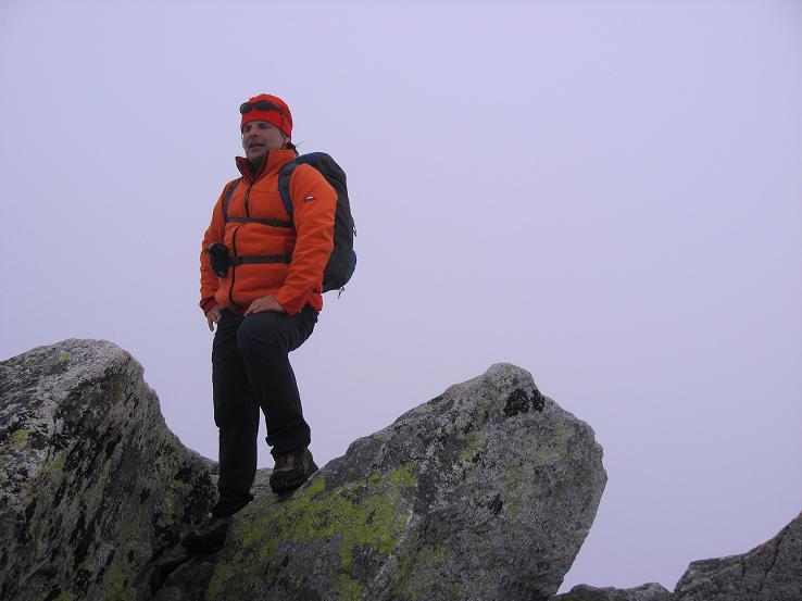 Foto: Andreas Koller / Wander Tour / Rysy - Paradeberg der Hohen Tatra (2503 m) / Der höhere Hauptgipfel des Rysy (slowakisch) / 21.05.2007 18:57:48