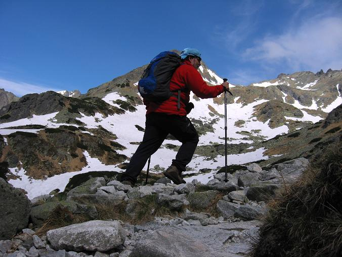 Foto: Andreas Koller / Wandertour / Rysy - Paradeberg der Hohen Tatra (2503 m) / Anstieg zur Schutzhütte Chata pod Rysmi / 21.05.2007 18:52:49